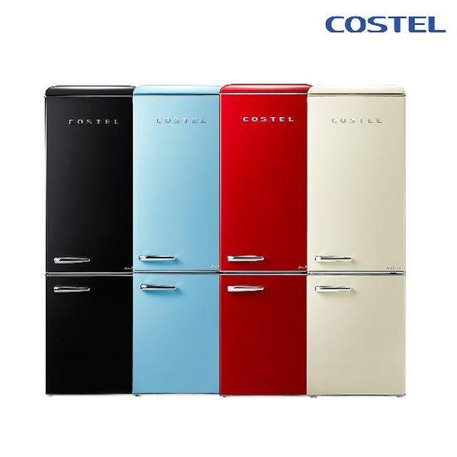 [렌탈] 코스텔 디자인 냉장고 (월 9,900원부터)