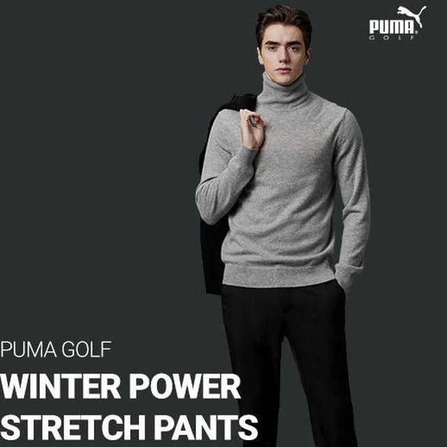 [가격인하]푸마골프 19년 겨울 기모 파워스트레치 팬츠 남성 3종