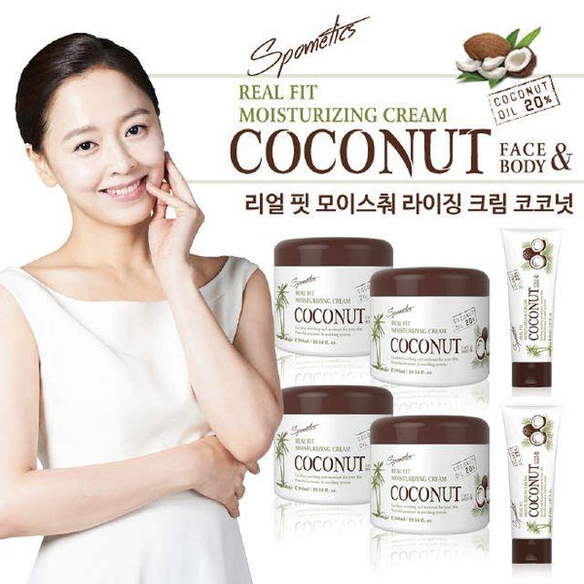 스포메틱스 코코넛 보습크림 세트
