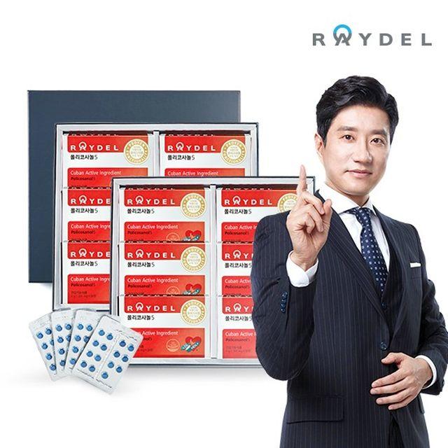 [방송동일][레이델] 폴리코사놀5 30정 X 12박스 세트