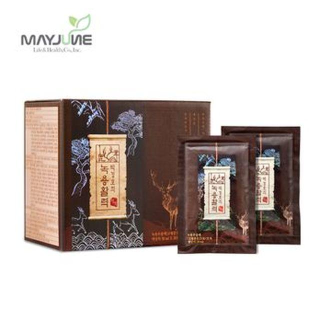 [국민카드5%할인](일)박경호녹용활력 명작 6박스/120포