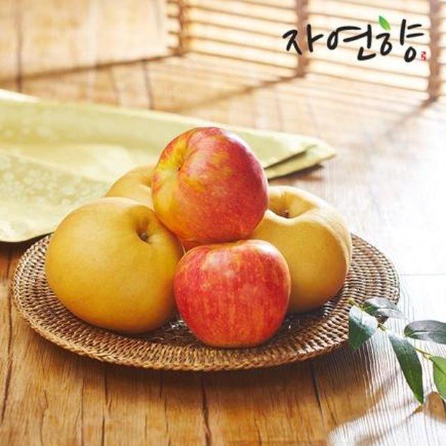 [2020년 설 기획] 자연향 사과 배 세트 9kg