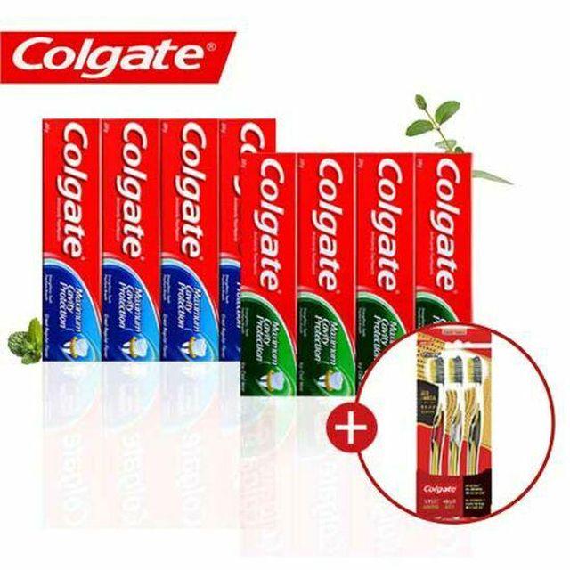 세계판매 1위, 일명 직구치약콜게이트 치약 250g 8개 쿨민트 포함