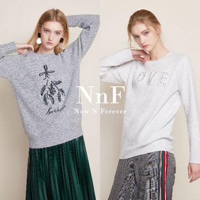 [BC카드5%할인][NS Shop+]NNF 니트맨투맨 2종