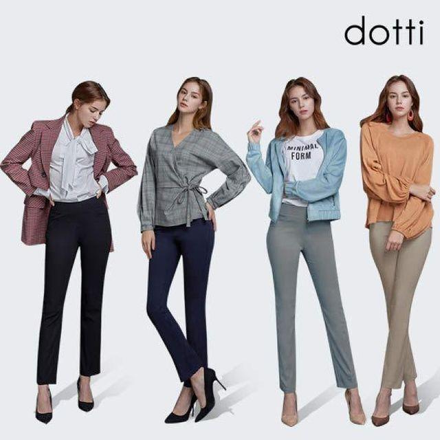 [도티 dotti] 도티 여성 스트레치 팬츠 4종 / 여성 슬랙스 4종 / 여성 스판 팬츠 4종