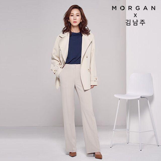 모르간 20SS 최신상! 시그니처 김남주 팬츠 런칭![20SS] MORGAN 시그니처 팬츠