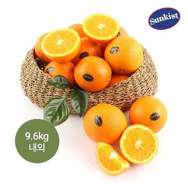 [국민5%할인][고당도]썬키스트 블랙라벨 오렌지 9.6kg, 60과 (20과x3박스, 과당 160g내외)