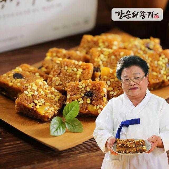 명인 비법 레시피 + 영양 듬뿍 식품명인 강순의 영양 약밥 54봉