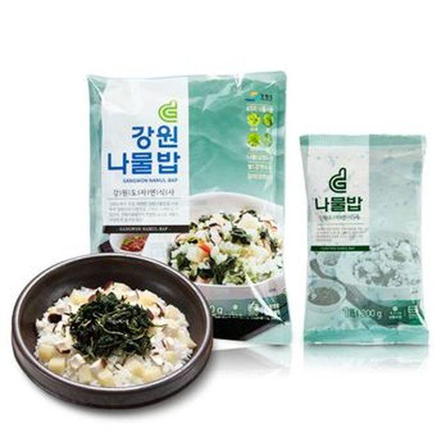 [TV]강원나물밥 22인분((나물밥200gX2개+간장양념소스 15gX2개)X11팩)