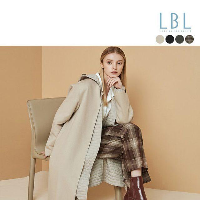 [LBL] 캐시미어 울 블랜디드 롱코트