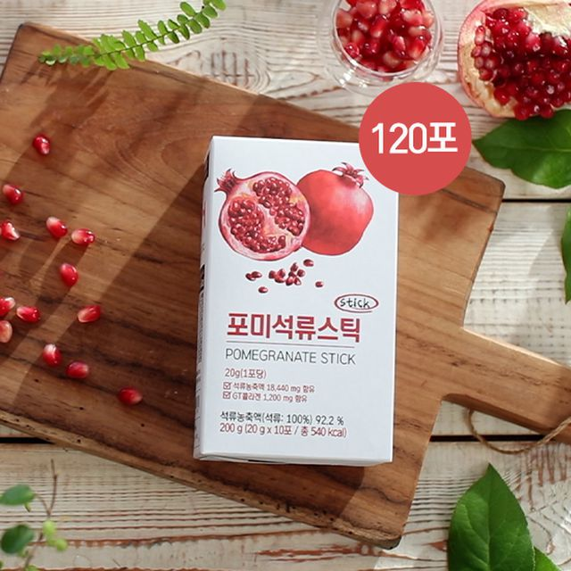 [유기농석류]포미 석류콜라겐젤리스틱(120포)