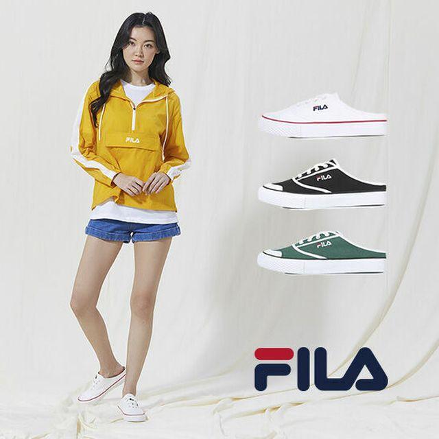 FILA 2020 S/S 최신상! 여성용 뮬 스니커즈 + 슬리퍼