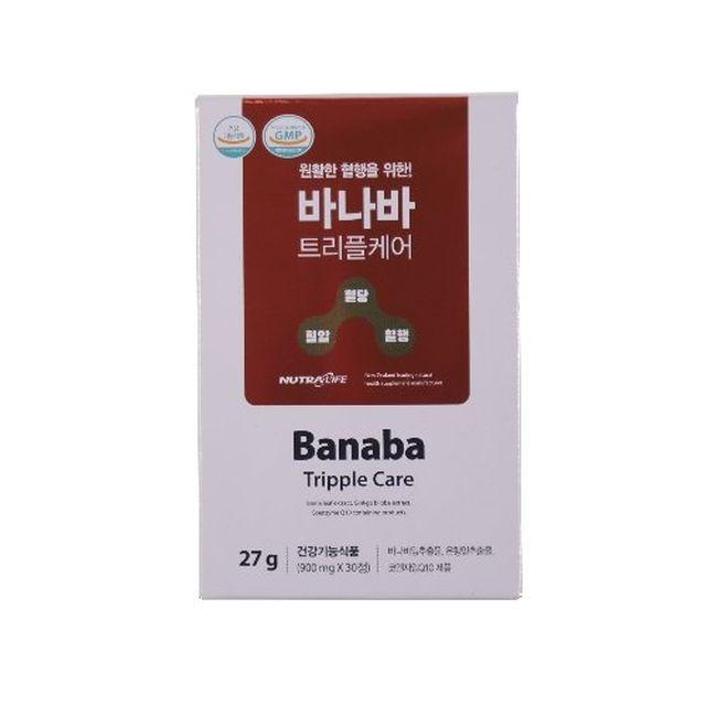 [뉴트라라이프] 바나바 트리플케어 6개월분