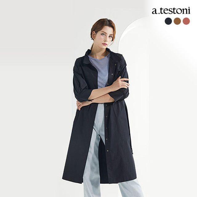 [a.testoni]아테스토니 트렌치 원피스