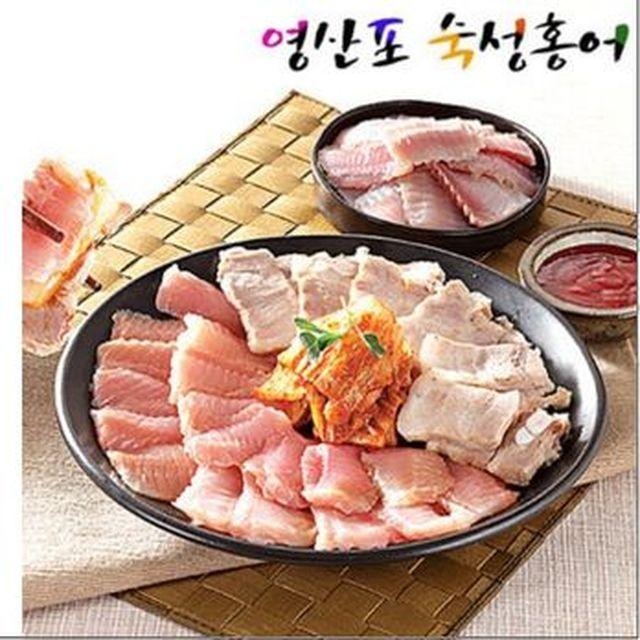 [농협카드5%할인][Shop+]영산포 숙성 홍어회 6팩