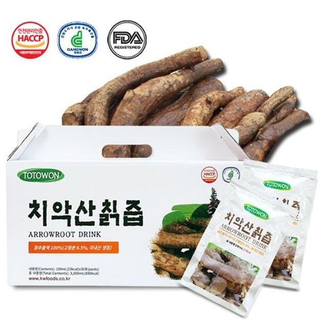 강원식품 치악산 칡즙 30포 x 6박스 (180포)