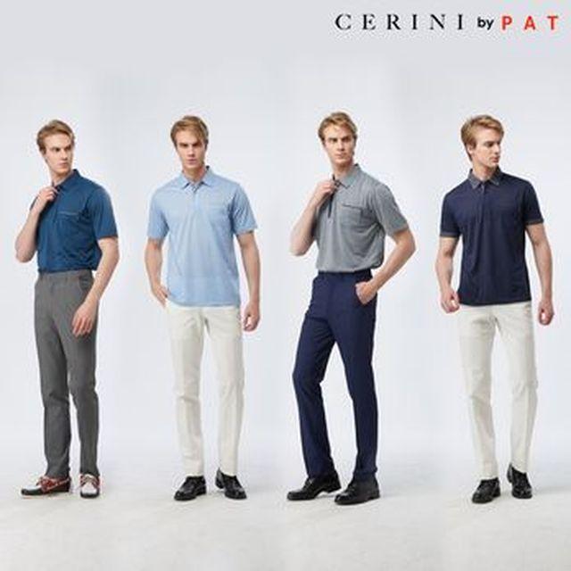 [현대카드5%할인][Shop+]CERINI by PAT 남성 에어 카라티셔츠 4종