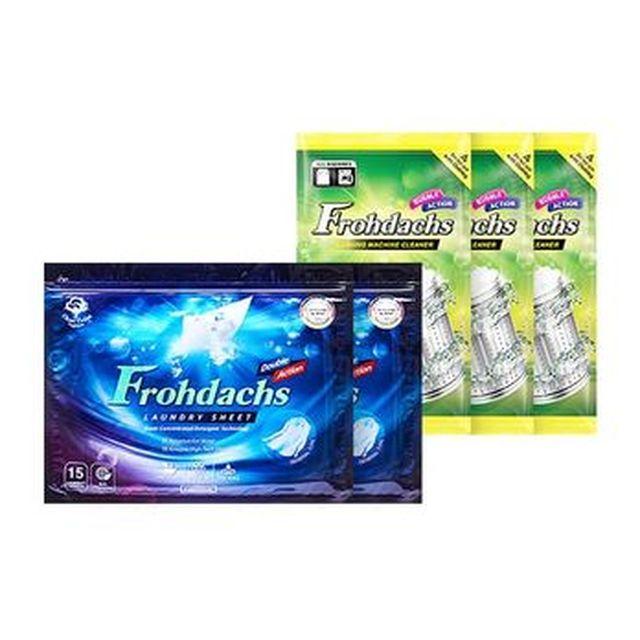 [TV]프로닥스 시트세제 20팩(총 300매)+세탁조클리너 3팩