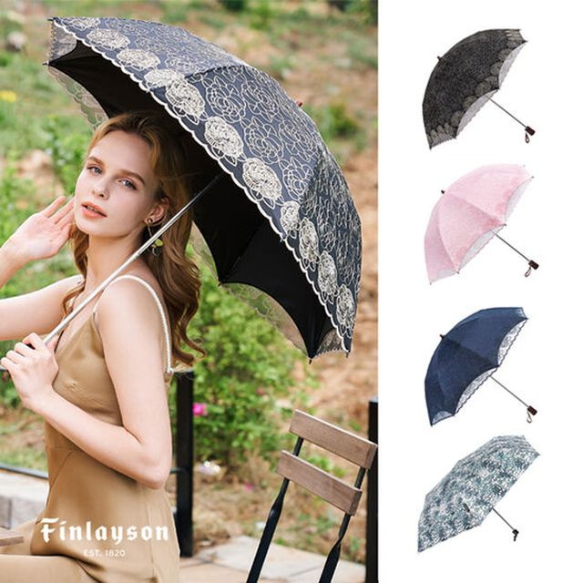 핀레이슨 프리미엄 양우산 2종 세트 (양산 우산 기능 겸용)