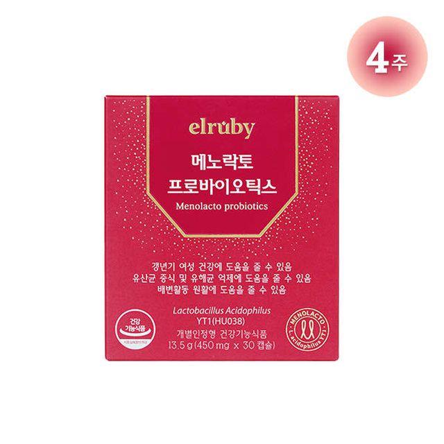 [단품]메노락토 프로바이오틱스 (450mg*30정)*1박스 (1개월)