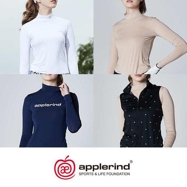 애플라인드 여성 아이스큐브 쿨레이어 셔츠 + 베스트 패키지 (총 4종)
