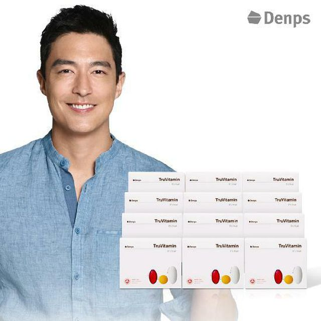 [NH5%할인][Denps] 트루바이타민 비타민 12개월분+비타민구미6봉 (D045)