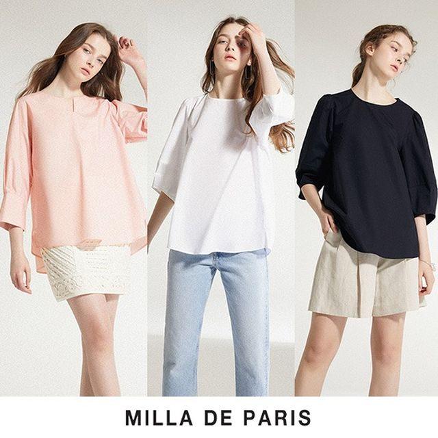 [론칭가 79,900]밀라드파리 20SS Summer 코튼 셔츠 3종