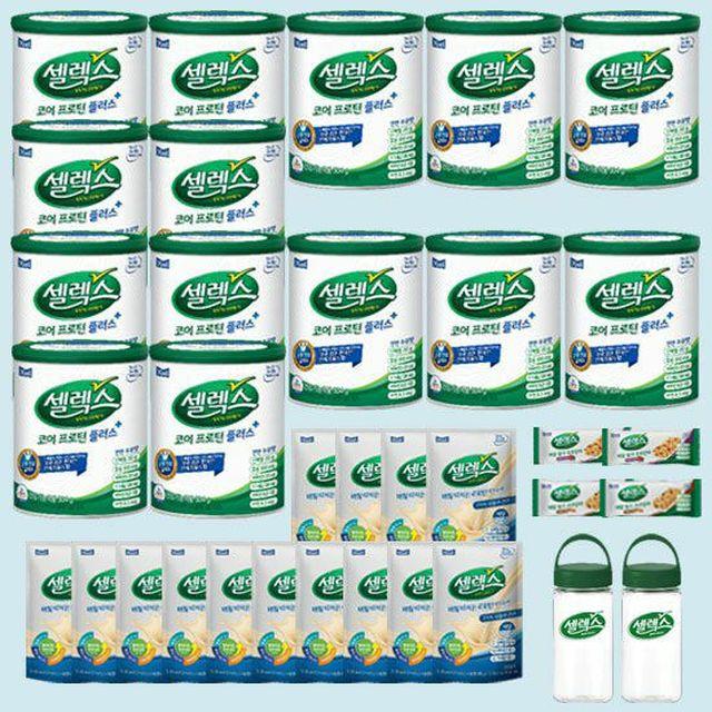유청단백질 완전단백질 셀렉스 매일유업 셀렉스 매일코어 플러스 14캔+마시는프로틴14포+바4개