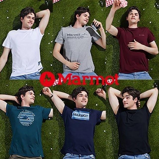 [20SS] 마모트 코튼 에센셜 티셔츠 6종, 남성
