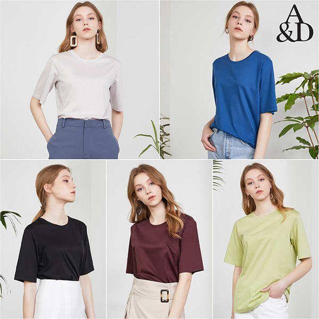 에이앤디 20 Summer 실켓 소프트 티셔츠 5종