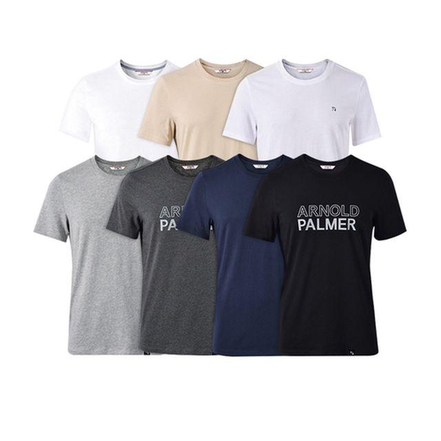 [아놀드파마] (초특가) Arnold Palmer 아놀드파마 남녀공용 언더셔츠 7종 패키지 (1)