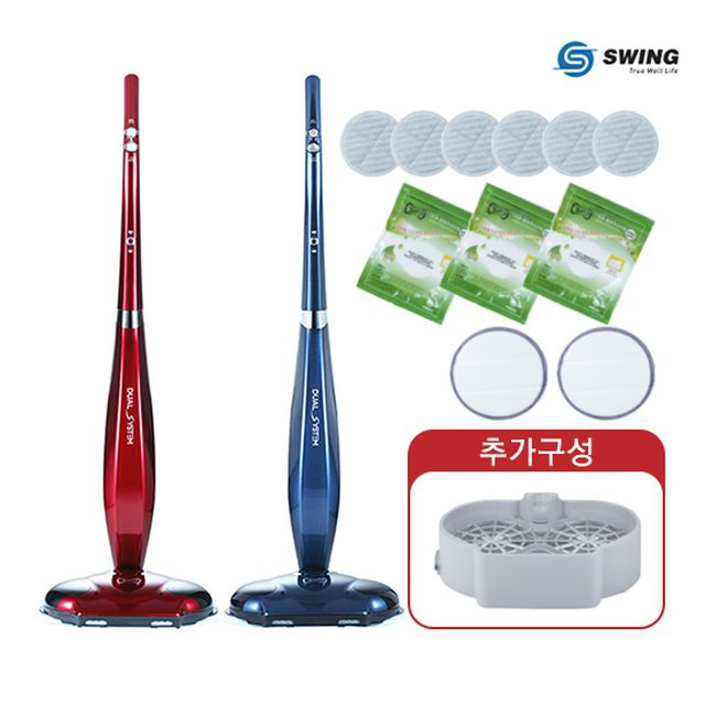 [3만원인하]파워스윙 무선 진공 물걸레 청소기 SWING-8700+물걸레 세척키트