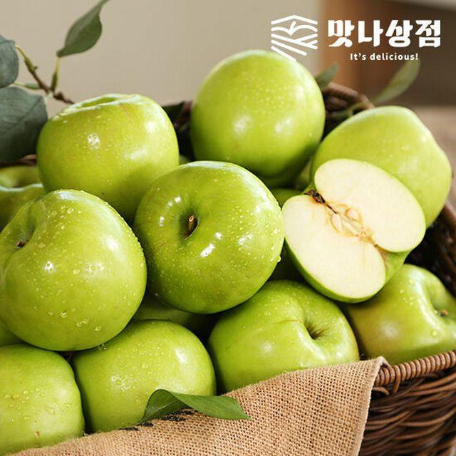 [맛나상점] 여름사과 썸머킹 5kg (2.5kg+2.5kg)