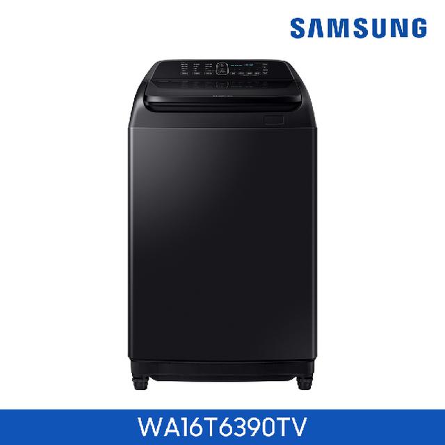 삼성 세탁기 16kg 블랙 [WA16T6390TV] (사은품 : 삼성정품 공기청정기)