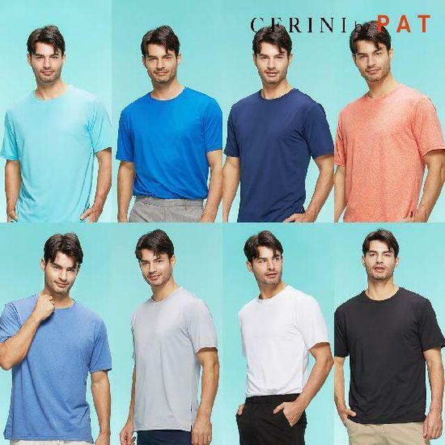[NH5%할인]Cerini by PAT 남성 데일리 반팔 티셔츠 8종