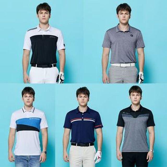 [농협카드5%할인][Shop+]벤호건 남성 기능성 반팔 티셔츠5종
