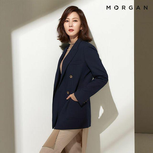 새로워진 컬러와 세련된 디자인으로 돌아온 모르간 시그니처 재킷 [김남주X모르간]20FW NEW 모르간 시그니처 테일러드 재킷