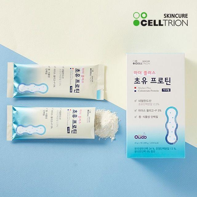 [초유단백질] 셀트리온 마더 플러스 초유 프로틴 5박스+보틀1개
