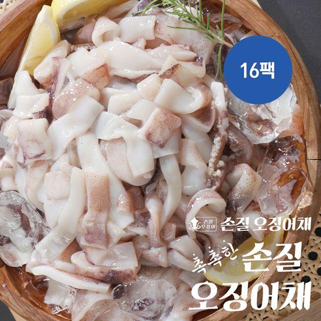 [초특가] 촉촉한 손질 오징어채 16팩