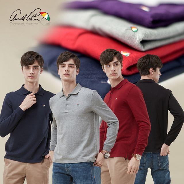 아놀드파마  20FW 남성 PK 카라 티셔츠 4종