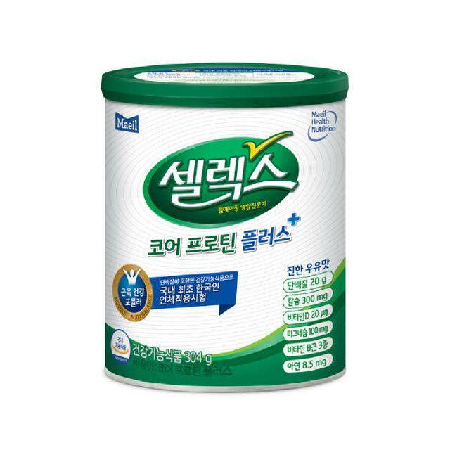 [단품][셀렉스]매일코어프로틴플러스304g*1캔