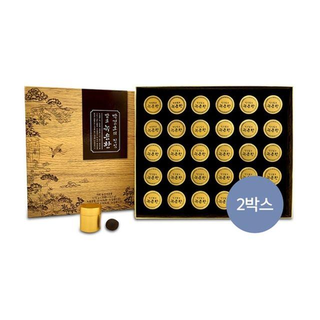 [메이준] 박경호의 진심 발효녹용환(더블 구성 2박스)