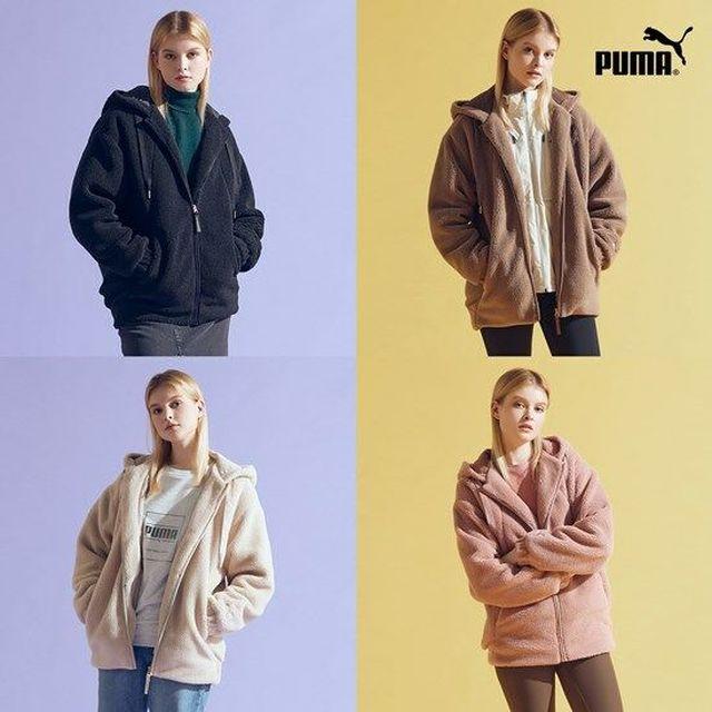 20FW 신상 입고, 글로벌브랜드 푸마 정품, 기능성 여)푸마 플리스 재킷 20F/W