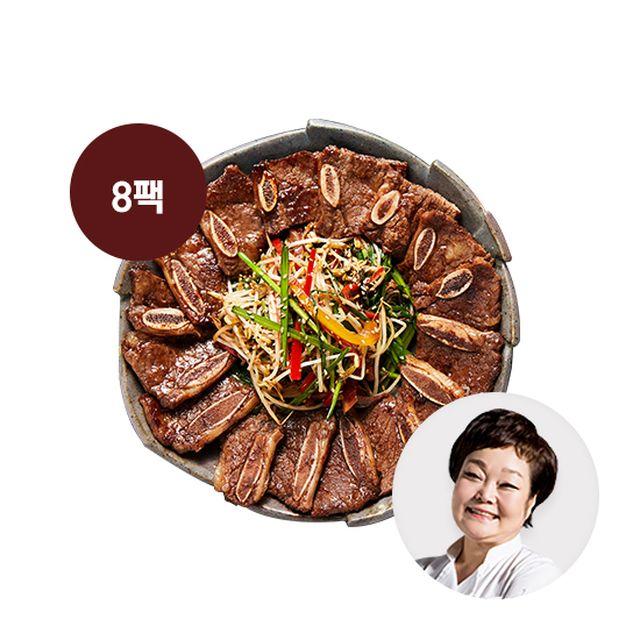 이혜정의 맛있는 블랙앵거스 LA갈비 500g X 8팩