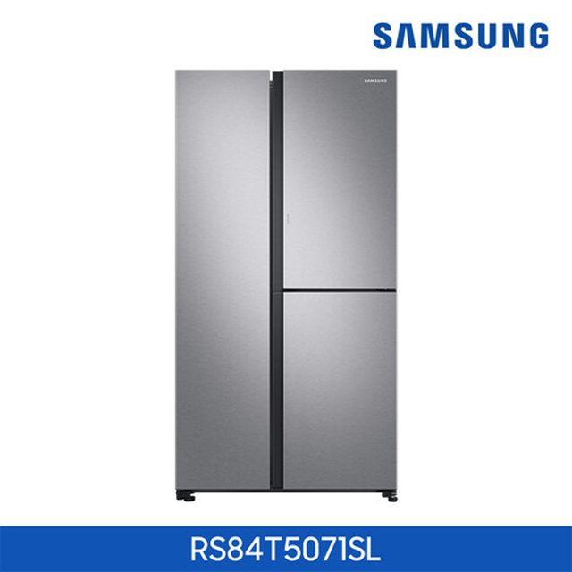 ○[846L] 삼성 3도어 푸드쇼케이스 냉장고 메탈실버 [RS84T5071SL]