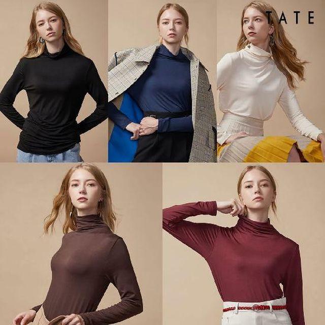 [국민5%할인]여성 [TATE] 테이트 모달 티셔츠 5종