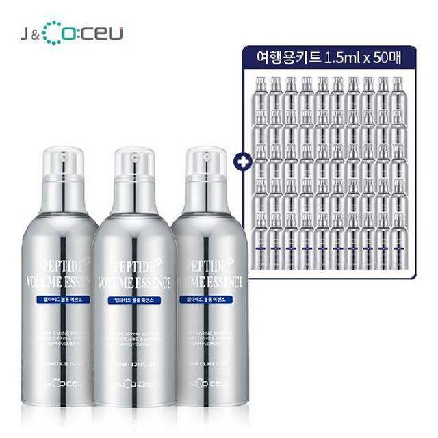 [신한5%할인](역대최대용량) 제이앤코슈 펩타이드 볼륨에센스 세트
