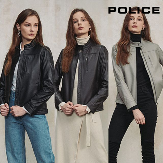[POLICE]폴리스 20FW 여성 양가죽 프리미엄 재킷 인하