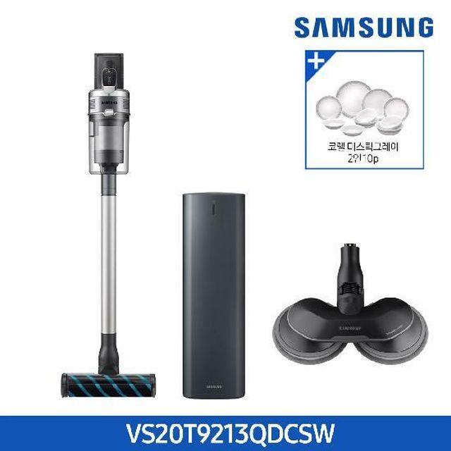 [현대5%할인,일시불 할인][삼성]+청정스테이션(방송에서만)제트 2.0스페셜에디션 VS20T9213QDCSW (물걸레등 4종 툴/배터리 1개)