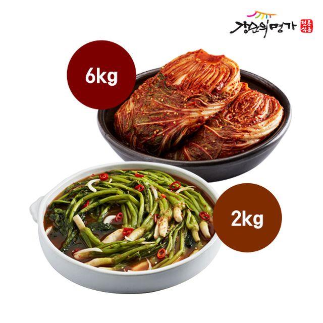 [강순의명가]포기김치6Kg+열무김치2Kg